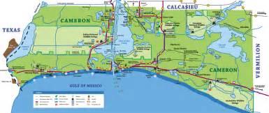 maps cameron parish