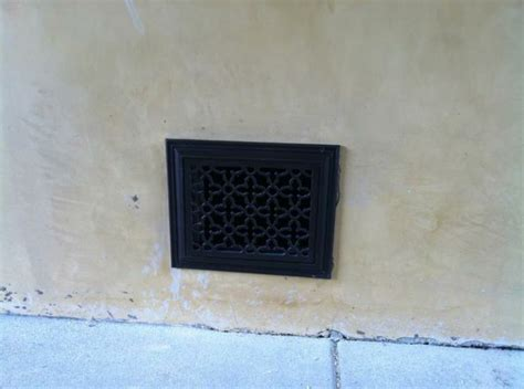 Grille Vent Cover by Outdoor Foundation Vent Grille Cover Decorative Vent