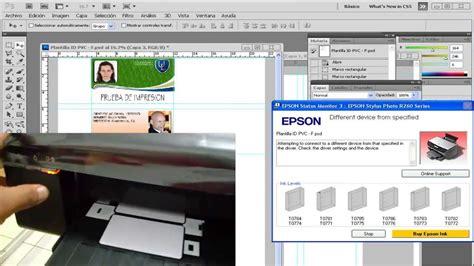 reseter epson r290 gratis bandeja para impress 227 o em cart 227 o de pvc epson t50 r290