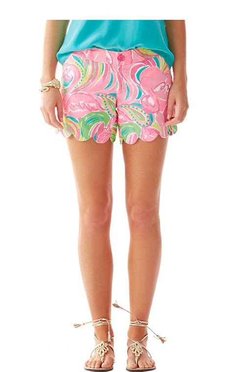 Hem Sabri Blue 4 lilly pulitzer 5 inch buttercup scallop hem in all nighter i want it all