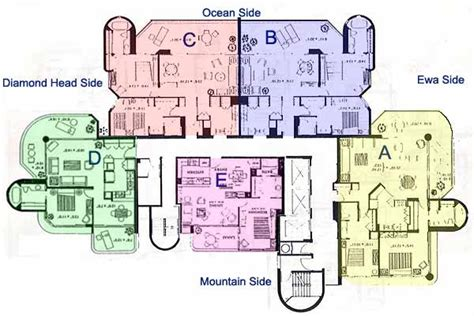 palace place floor plans canterbury place honolulu hawaii condo by hicondos com