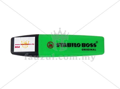 Stabilo Display Box Green stabilo green 70 33 fauzul enterprise