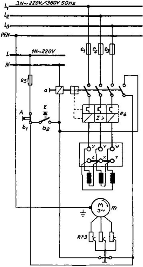 3 phase starter wiring diagram symbols 3 phase power