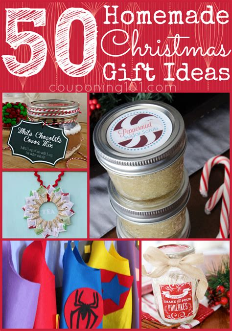 50 diy christmas gift ideas