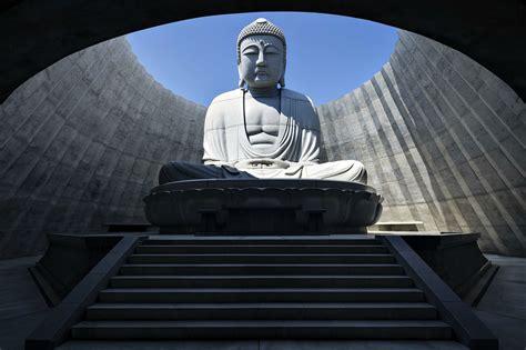 The Of Buddha tadao ando embeds open air prayer around 15
