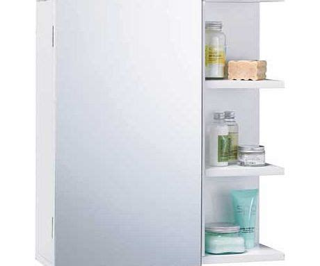 modern mirrored bathroom cabinet with 3 shelves review