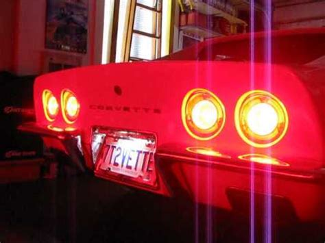c3 led lights diy c3 corvette led halo lights