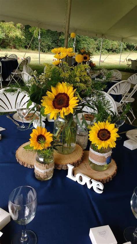 sunflower centerpieces for wedding 25 best ideas about sunflower centerpieces on