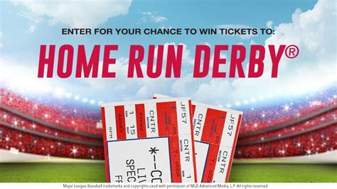 win 2 tickets to attend the home run derby 174