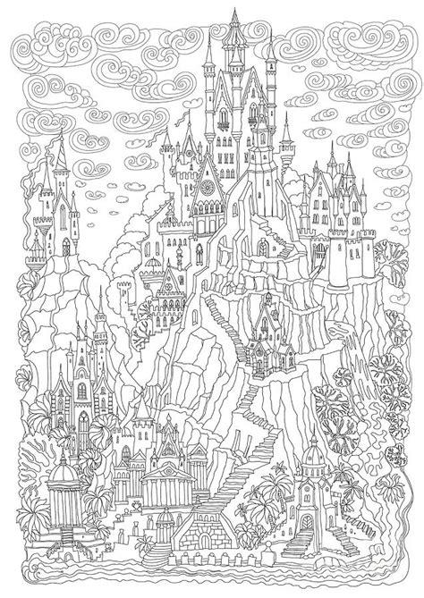 Fantasy Landscape. Fairy Tale Castle On Digital Art by L