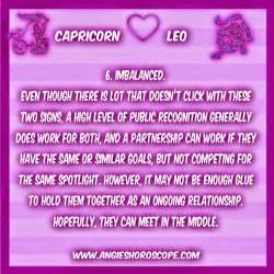 image gallery leo and capricorn attraction