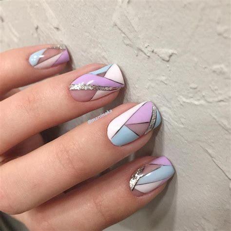 best 25 geometric nail ideas on geometric