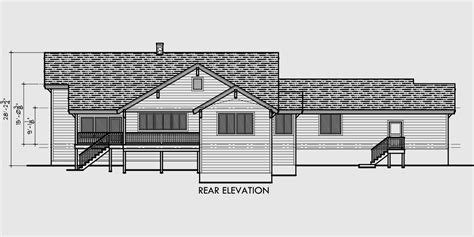 gable roof house plans ranch house plans with gable roof