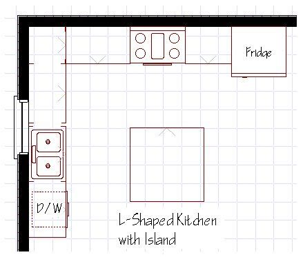 l kitchen layout with island best 25 small l shaped kitchens ideas on l