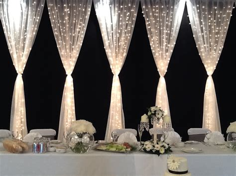 fairy light curtain more weddings