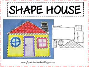 Shape House Esl Efl Preschool Teachers April 2013