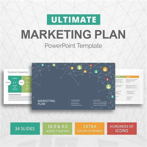 Marketing Plan Powerpoint Template Marketing Strategy Slideson Marketing Template Powerpoint