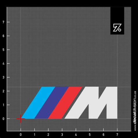 Bmw Aufkleber Motorsport by Bmw Motorsport M Logo Sticker