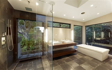 Modern Master Bathroom Contemporary Master Bathrooms Home Garden Design