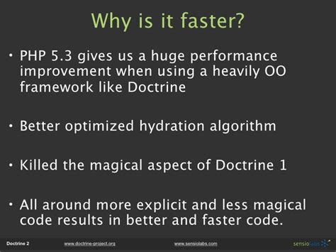 doctrine 2 hydration doctrine 2 enterprise persistence layer for php