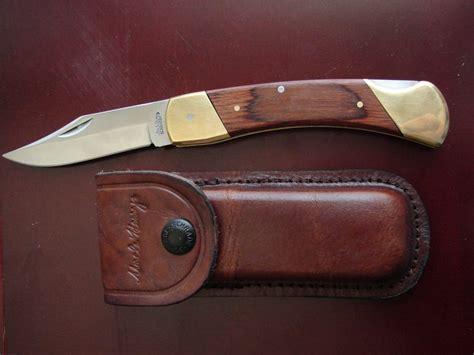 schrade lb7 knife schrade henry 5 folding knife w leather sheath lb7