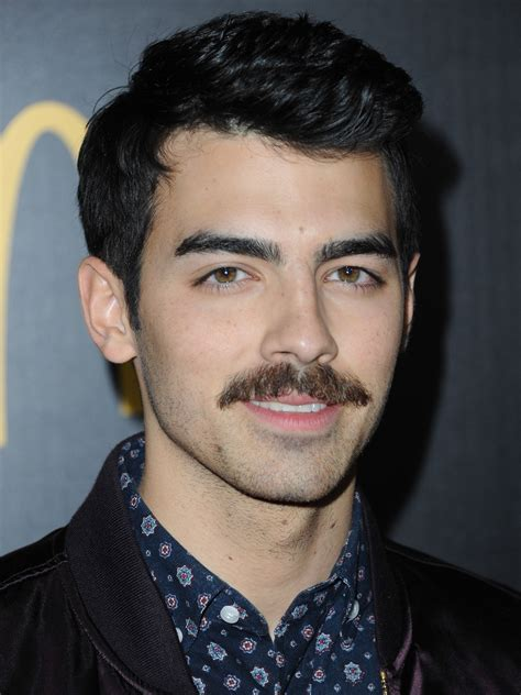Bathroom Ideas For Girls by Joe Jonas Mustache Pictures Guy Celebrities With Mustaches