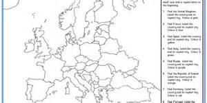 Map Quiz Europe by Pics Photos Political Map Europe Quiz