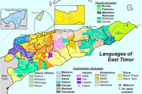 languages  east timor wikipedia