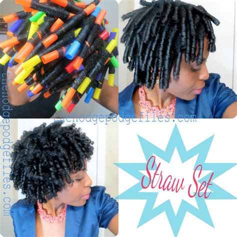 Straw Set Hairstyles by Straw Set On Hair Veepeejay