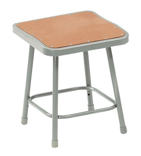 Heavy Stools by Square Fixed Height Heavy Duty Lab Stools 18 Quot Lab Stool