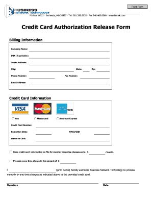 credit card processing template credit card authorization release form support fill