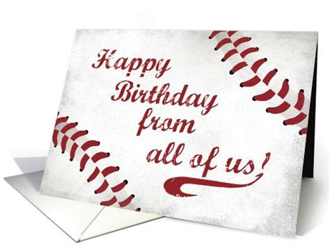 printable birthday cards wrestling from all of us happy birthday large grunge baseball card