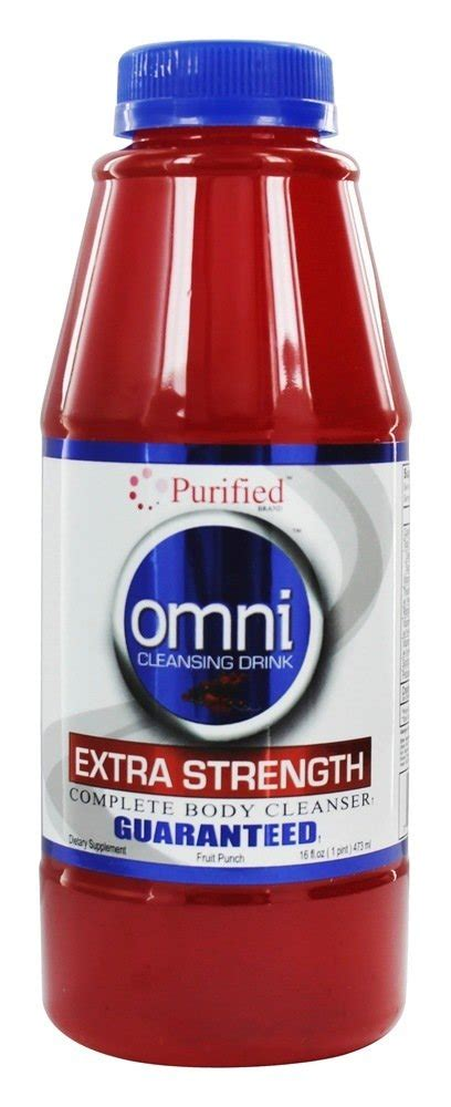Omni Detox Drink For by Buy Purified Brand Omni Cleansing Liquid Strength