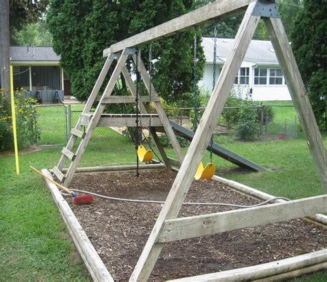 how to build a wood swing set how to build a gun rack for a wall