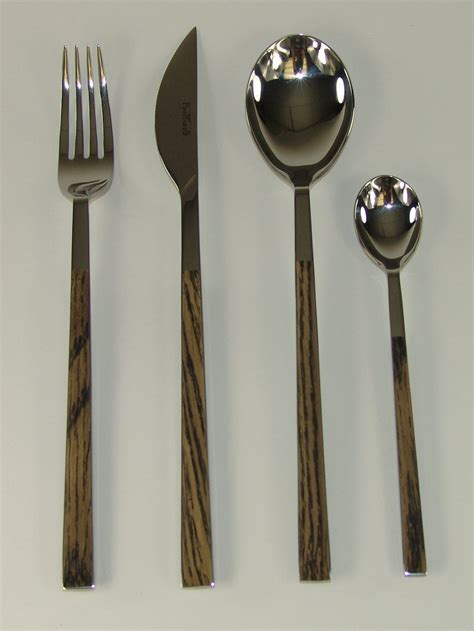 sushi queen flatware contemporary flatware and sushi queen wenge 24pc flatware set 17d07091 170 00
