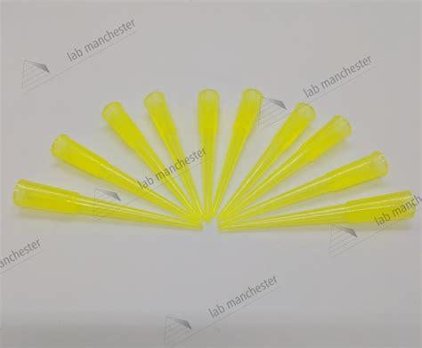 Yellow Tips Gilson 200ul 10 200ul yellow tips bulk gilson lab manchester