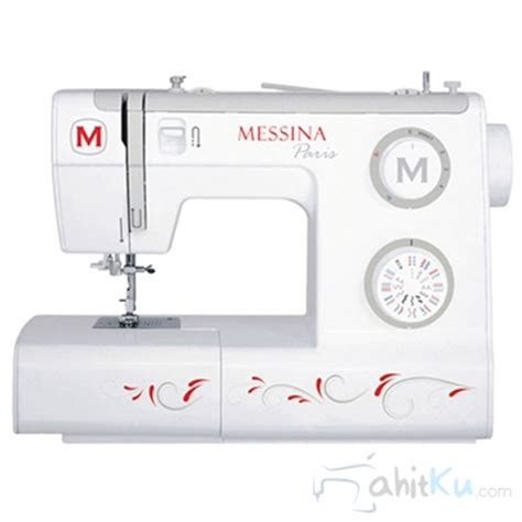 Original Mesin Jahit Messina P5832 Portable mesin jahit zigzag portable 32 pola messina p5832 1 4 juta