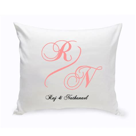 custom pillow personalized couples unity throw pillow couples personalized