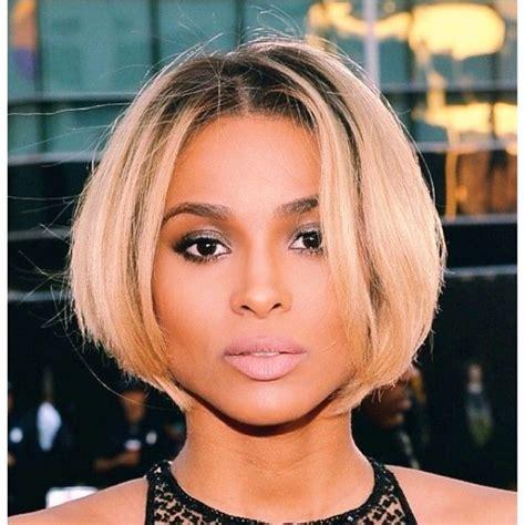 cutting a beveled bob hair style ciara s bob cut hair choices let s try them