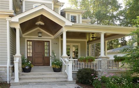 front porch furniture ideas Entry Traditional with bead board ceiling ceiling beeyoutifullife.com