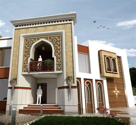 pin  fleurz  houses exterior   mughal