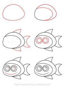 How To Draw Fish How To Draw A Simple Fish Www Imgkid The
