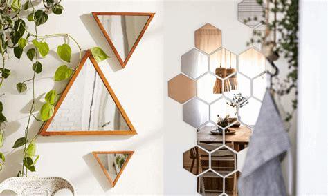 como decorar un espejo hexagonal decorar con espejos 161 geniales ideas y f 225 ciles de hacer