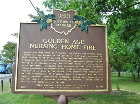 golden age nursing home fitchville oh fires on