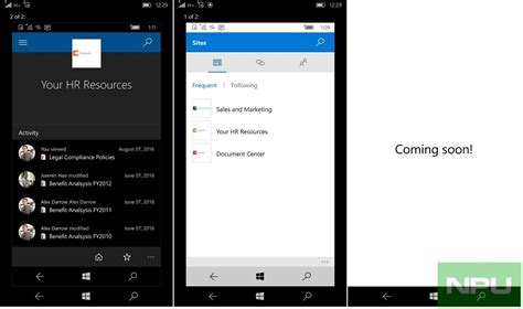 window mobile apps store sharepoint app for windows 10 mobile appears in windows