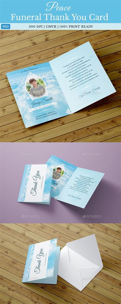 http graphicriver net item funeral service business card template 10998645 25 unique funeral thank you cards ideas on