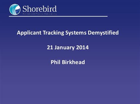 applicant tracking systems ats demystified