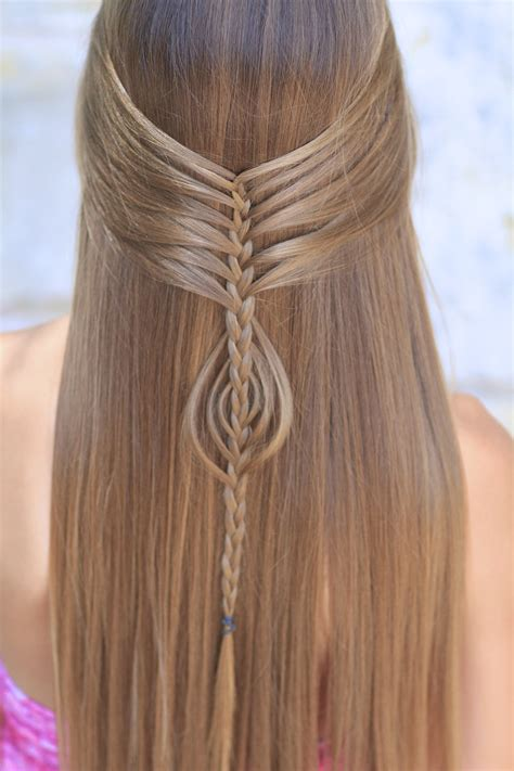 Mermaid Hairstyles by Mermaid Braid Combo Hairstyles