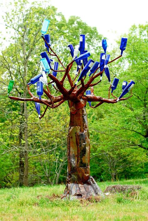 bottle trees and the whimsical of garden glass five ways bottle trees and the whimsical of