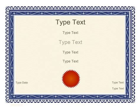 free certificate templates for 82 free printable certificate template exles in pdf